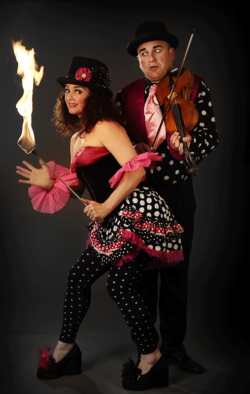 Dotty Circus Show - fire and live music